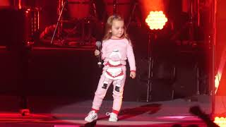 """Dont Ask Me Why"" Billy Joel & 3 Year Old Daughter Della Rose@MSG New York 12/19/18"