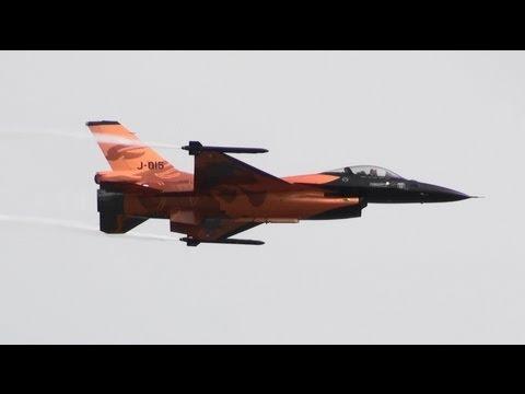 RIAT 2013 F-16 Royal Netherlands Air Force  The Royal International Air Tattoo