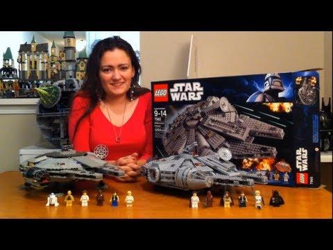 75212 /& 7965 Faucon Millenium Support Lego 75105