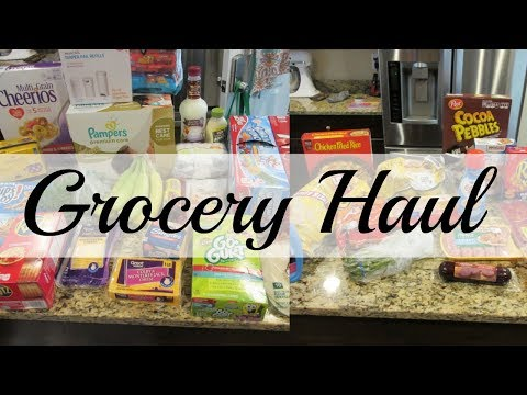 Grocery Haul - Walmart