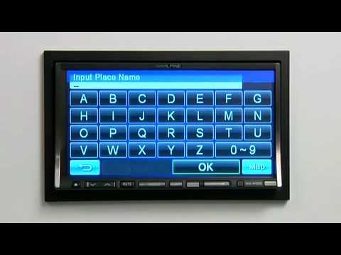 Alpine INA-W900 2-DIN Audio/Video/Navigation Receiver
