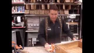 How To Glue Broken Drawer With Clamps For Permanent Repair