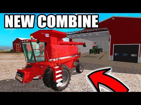 FARMING SIMULATOR 2017 | WE BOUGHT THE CASE IH COMBINE & A JOHN DEERE 4440 | NO CREEK EP #2