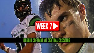 HS Football: Dublin Coffman at Central Crossing [10/10/14]