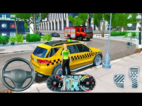 SUV Taxi Simulator 2020 #2 By Ovilex - Driving In New York City - Android IOS Gameplay