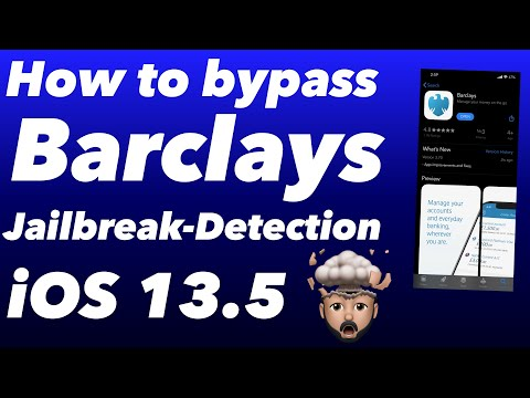 How To Bypass Barclays & Other Banking Apps IOS 13.5 Jailbreak Detection