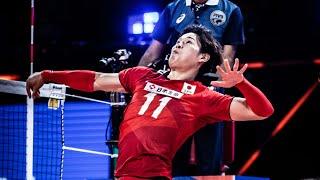 Yuji Nishida Best Actions in VNL 2021