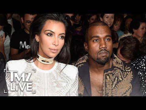 Kim & Kanye: Rare PDA! | TMZ Live
