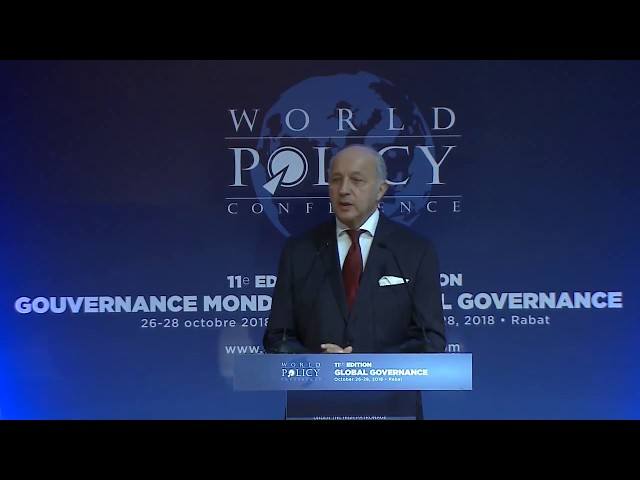 WPC 2018 - Dinner debate with Laurent Fabius