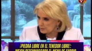 WEICH DESENMASCARO EL MENU DE CARRIO - 01-12-14