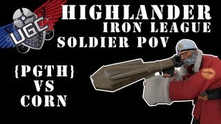 TF2 UGC Highlander Iron League - PGTH vs CORN - (Not Full Match - Soldier POV)