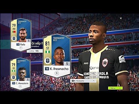 FIFA ONLINE 4: XẾP HẠNG FO4 CỰC VUI VỚI TEAM +5 TP ( TOURNAMENT BEST ) & ĐM +5 - Shoptaycam.com