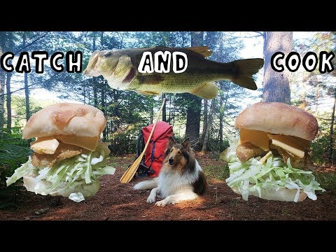 Backcountry Catch and Cook Camping