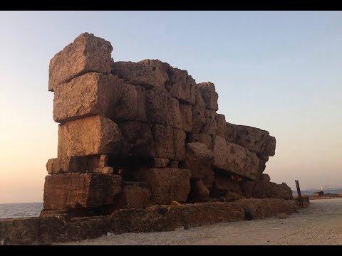 Megalithic Syria And Lebanon Cyclopean Walls Youtube