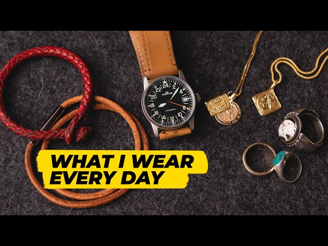 The Jewelry I Wear Every Day (affordable men's jewelry collection)