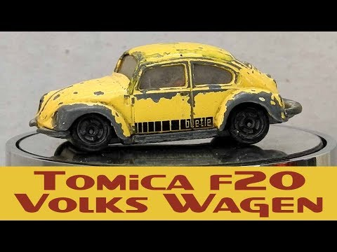 Tomica Custom Restoration F20 Volks Wagen 'Barn Find'