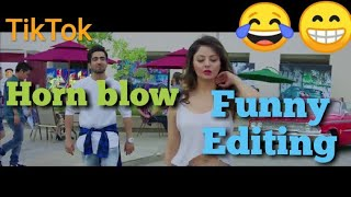 😂Horn blow Funny Editing dubbed||Baba ji Hsk||Hemant sk