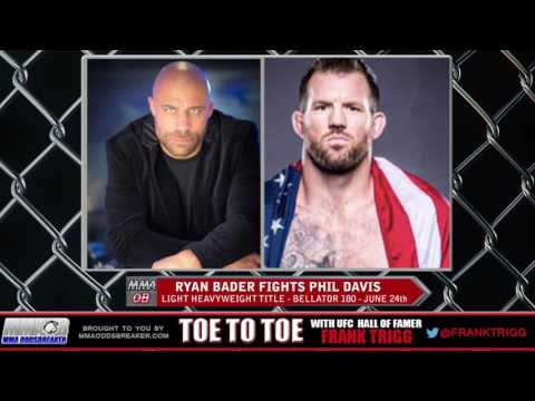 Frank Trigg pre-fight interview with Bellator 180's Ryan Bader