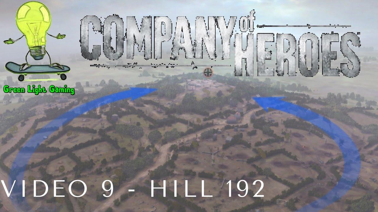 company of heroes hill 192 walkthrough