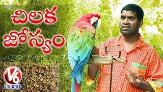 Bithiri Sathi Speaking With Parrot    Sathi On ...