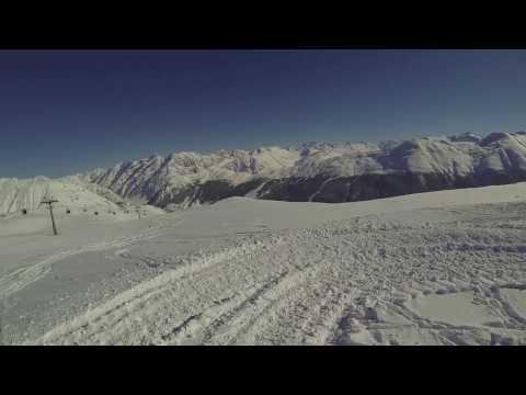 (Włochy Livigno 2014 GO-PRO Full HD) Zwiastun Filmu Narty 2014