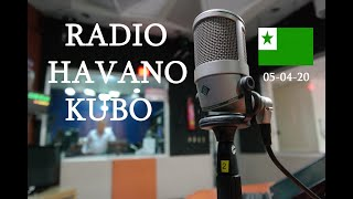 RADIO HABANA CUBA EN ESPERANTO /  05-04-2020