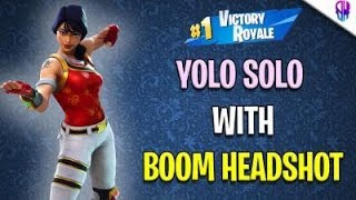 Fortnite India | YOLOING | Code- BoomHeadshot1G