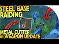 RAIDING The STEEL BASE - METAL CUTTER in WEAPON UPDATE - Last Day On Earth Survival Update 1.8.7