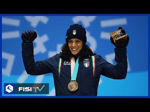 Arriva la medaglia di bronzo per Federica Brignone a Pyeongchang | Sci Alpino | FISI TV