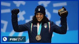 Arriva la medaglia di bronzo per Federica Brignone a Pyeongchang