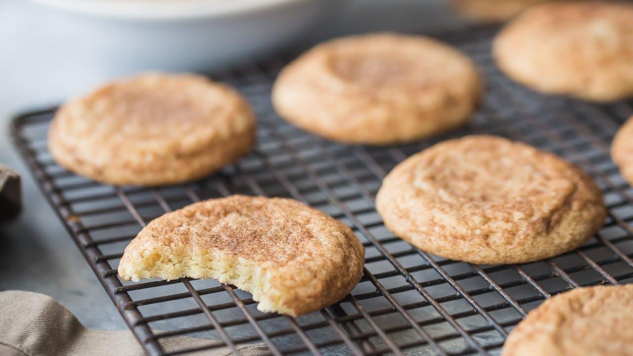 Best Soft Snickerdoodle Cookies Recipe Horizontal Shortform Youtube