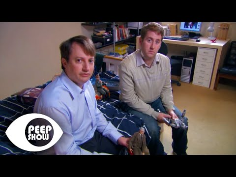 Jez Finds Mark Playing - Peep Show