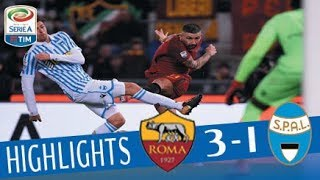 Roma - SPAL 3-1 - Highlights - Giornata 15 - Serie A TIM 2017/18