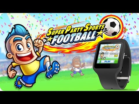 Super Party Sports: Football Wearable Edition (Wearable Game) -  Official Trailer
