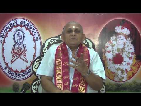 """""""Upadesa Saram"""" Of Bhagavan Sri Ramana Maharshi : Day 17 :Shlokam 29  30 : Sri Chalapathirao"""