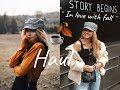 Zamilovaná do podzimu?🍂 #1 FALL HAUL 2018