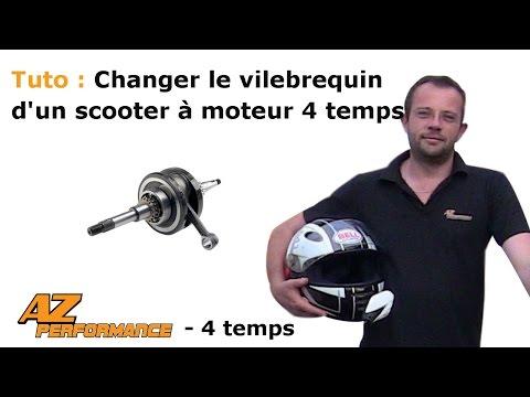 Tuto Changer le vilebrequin et la pompe à huile de son scooter Chinois de type Gy6 / 139QMB / …