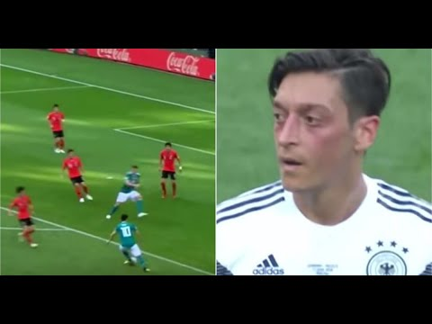 Mesut Ozil stats from the 2018 World Cup emerge after he quits  international football