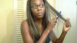 How To: Razor Cut and Shape a Sew In Weave