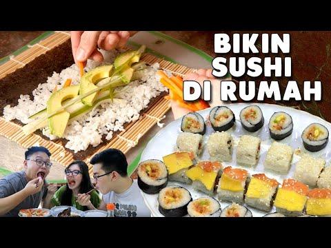 Ternyata Sushi Rumahan Gak Kalah Enaknya !!!