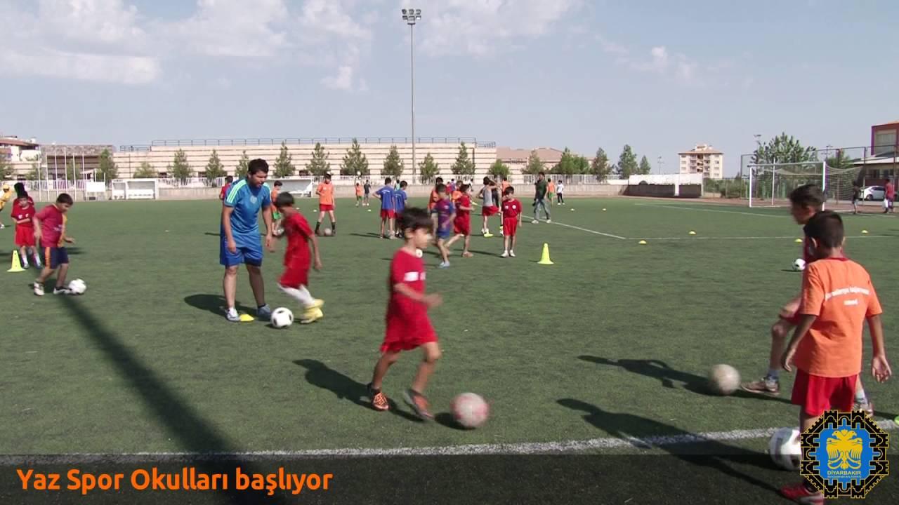Diyarbakır Ücretsiz Yaz Spor Okulları 2016