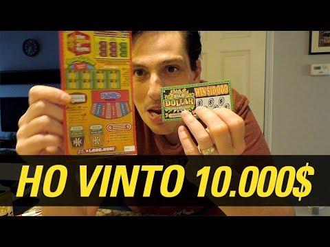 🤑 GRATTA E VINCI AMERICANO – VINTI 10.000 $$$!!! 🤑💰