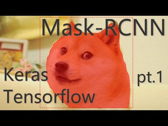 Mask RCNN with Keras and Tensorflow (pt 1) Setu    - With Loop