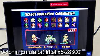 Dolphin Wii Gamecube Emulator: Atom x5-z8300