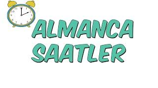 Almanca SAATLER