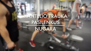 #IronAcademy: Nugara. Hantelio Trauka Pasilenkus. Ironman.lt & O. Ringys