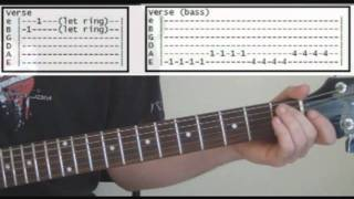 Smells Like Teen Spirit by Nirvana - Full Guitar Lesson & Tabs