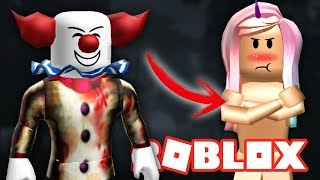 THE ASESINO PAYASO LEAVES ME NUDE 😨 ROBLOX - THE CLOWN KILLINGS