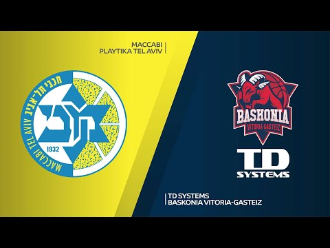 Maccabi Playtika Tel Aviv-TD Systems Baskonia Vitoria-Gasteiz Highlights |EuroLeague, RS Round 20