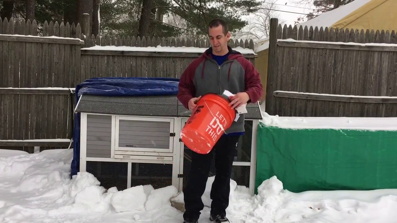 How To Build A Heated Hanging Chicken Waterer That Will Not Freeze